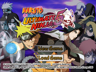 CHEAT NARUTO SHIPPUDEN ULTIMATE NINJA 5 PS2 LENGKAP TERBARU
