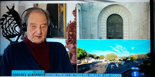 """Sánchez- Albornoz """" La democracia española ha vivido hasta ahora en una contradicción"""""""