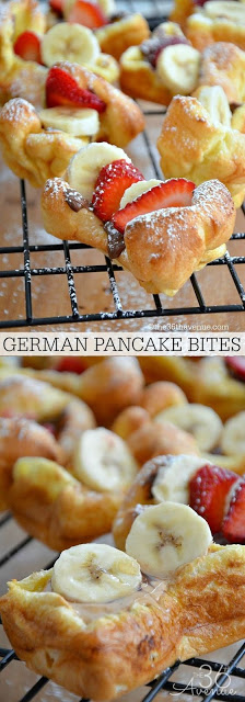 GERMAN PANCAKE BITES
