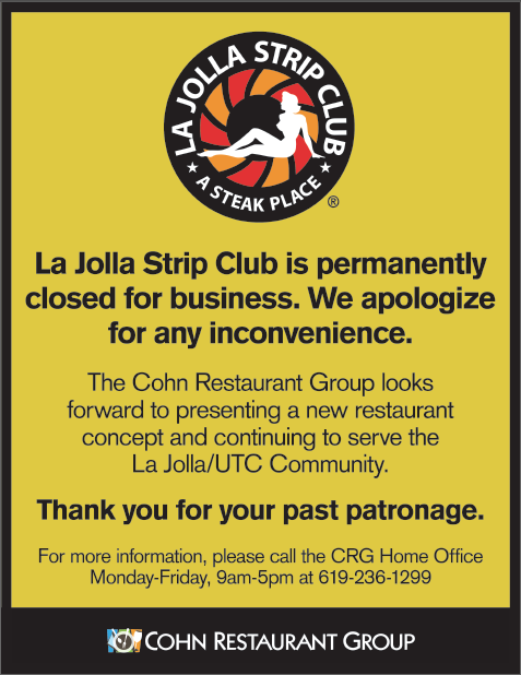 La jolla strip club