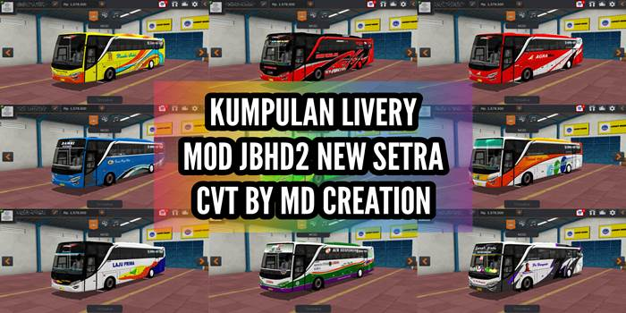 livery jbhd2 new setra md creation