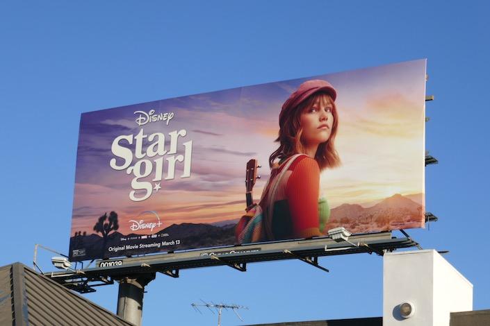 Stargirl movie billboard