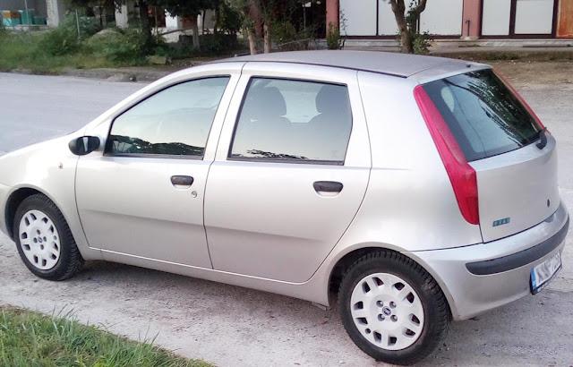 Fiat Punto #Ασημί