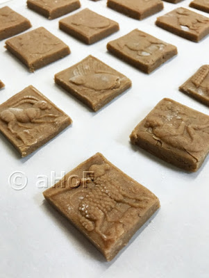 Speculaas Cookies, ready to bake
