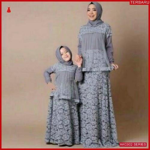 AKC002G32 Gamis Couple Mom Anak 002G32 Gamis Kid BMGShop