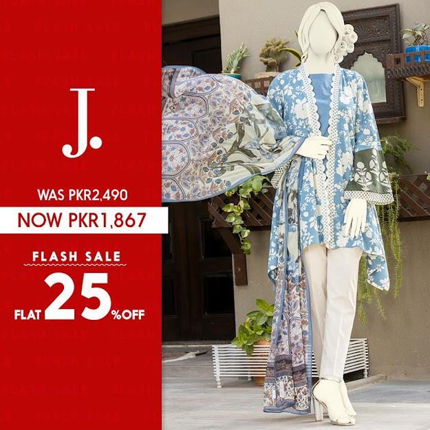 Junaid Jamshed lawn unstitched collection