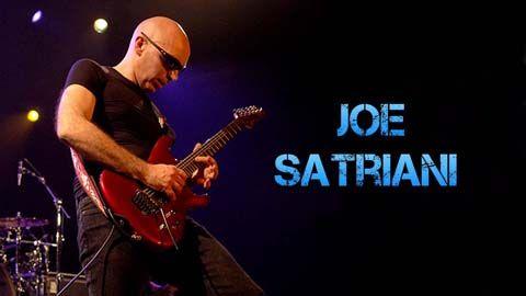 Biografía y Equipo de Joe Satriani