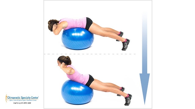 Extension exercise for back pain