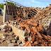 ATENÇÃO: Raio atinge casa e derruba telhado e paredes no interior do RN; idoso de 82 anos tem ferimentos leves.