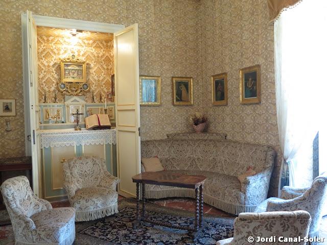 Capilla del Salón del Palacio Arezzo di Trifiletti