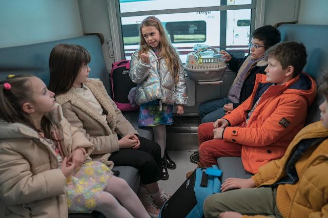 A todo tren destino Asturias camarote niñes