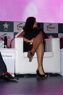 Ekta Kapoor Anurag Kashyap & Ramesh SippyAt at FICCI FRAMES 2017  0018.JPG