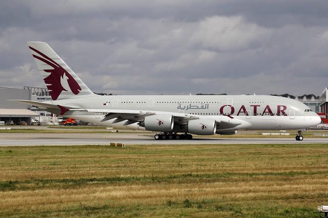 Qatar Airways A380-800 First Livery
