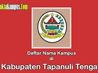 5+ Kampus Terbaik di Kabupaten Tapanuli Tengah