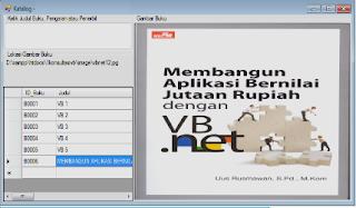Tugas Besar aplikasi perpustakaan dengan vb.net