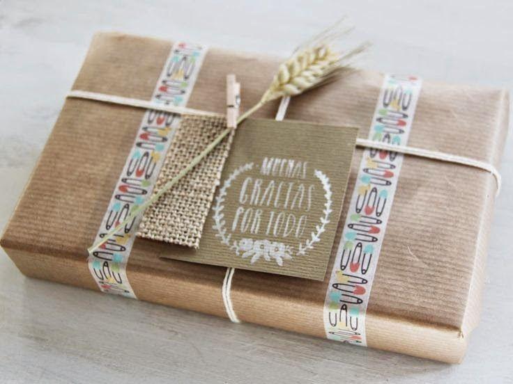 10 ideas para tus regalos envuelve bonito y r pido - Regalos envueltos originales ...