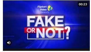Flipkart Fake Or Not