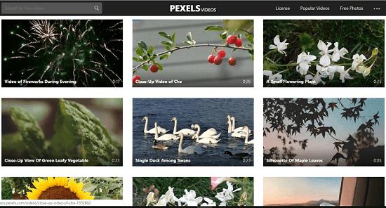 تحميل فيديوهات دون حقوق الملكية أفضل 5 مواقع مجانية