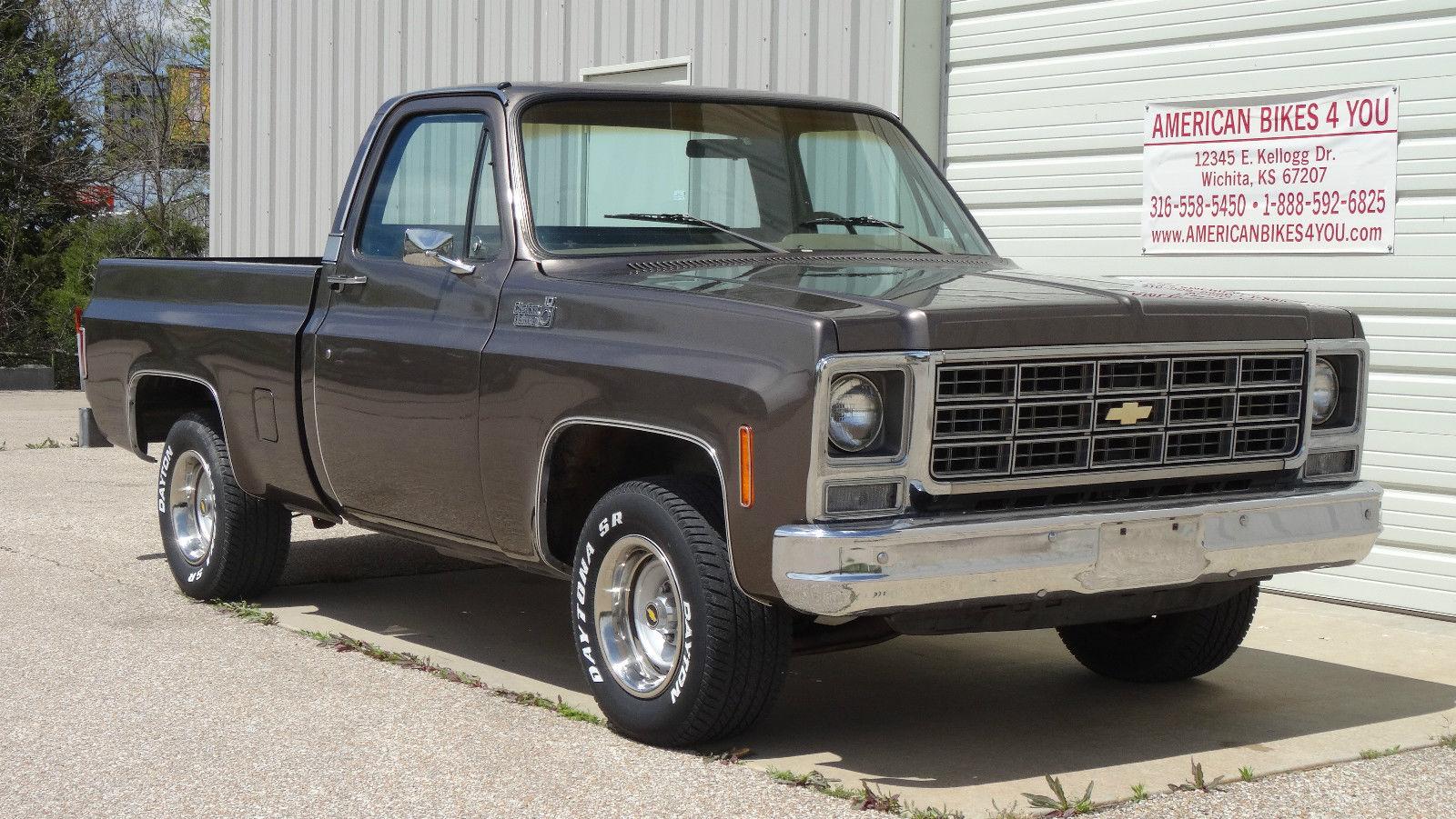 All American Classic Cars: 1979 Chevrolet C-10 Custom ...