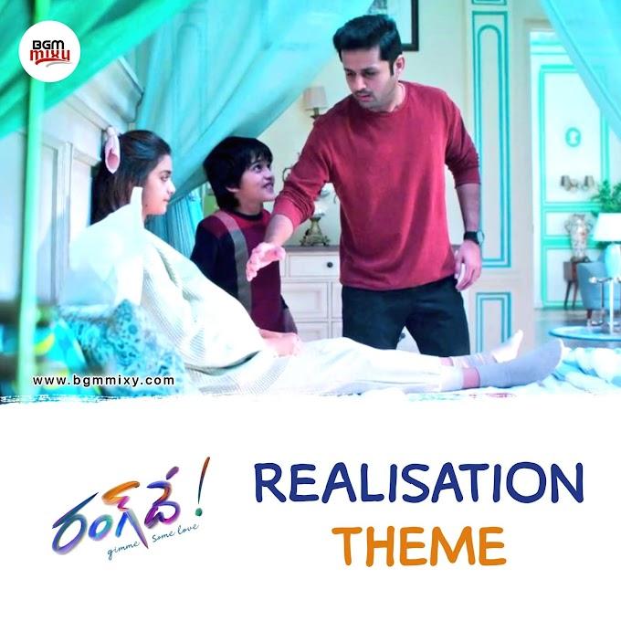 Rang De Realisation Theme Download - Rang De BGMs Download