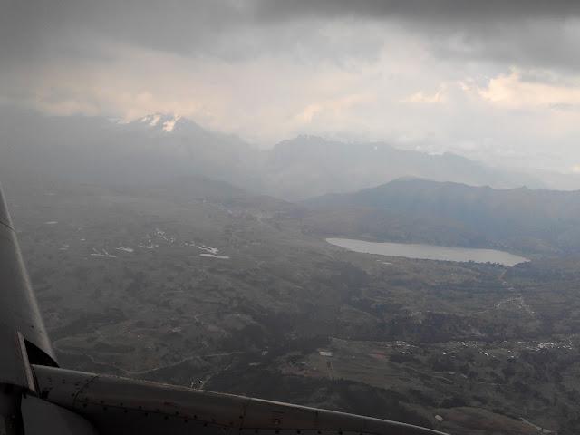 Vuelo hacia Cuzco