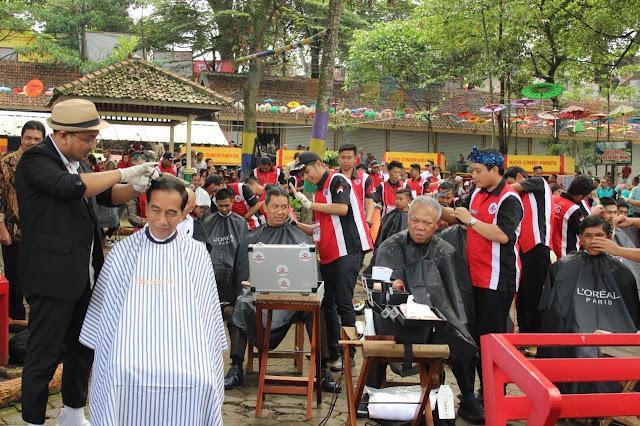 Sudirman Said: Gak Masalah Tukang Cukur Garut Dipakai Pencitraan Jokowi