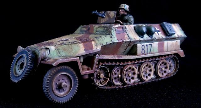 Panzer Lehr 251/1 1/56 28mm crew