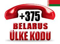+375 Belarus ülke telefon kodu