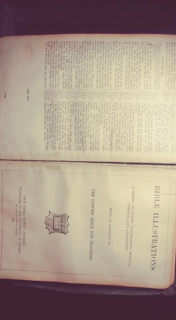 1800 Bible With Egyptian, Sumerian And Anunnakis Images? 5