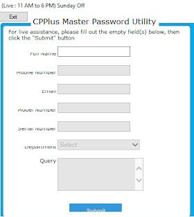 How To Unlock, Recovery Or Reset Forgotten CP Plus DVR Password