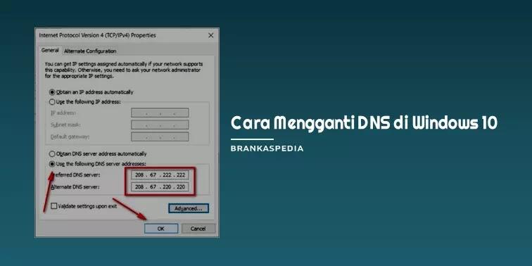 Cara Mengganti DNS di Windows 10