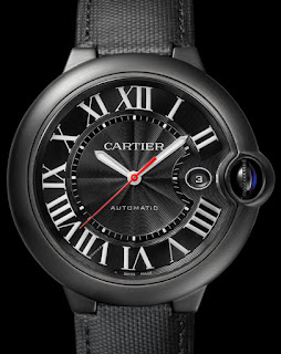 Montre Cartier Ballon Bleu Carbone