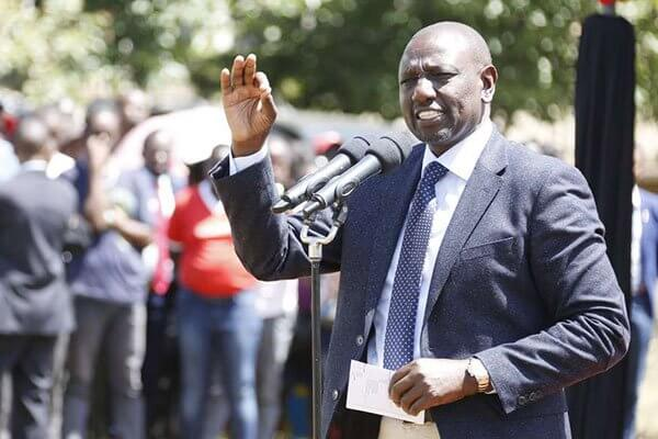 Deputy President William Ruto in a past event. PHOTO | NMG