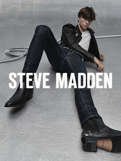 Ashton Smith & TJ Moore Model Steve Madden Holiday 2019 Collection