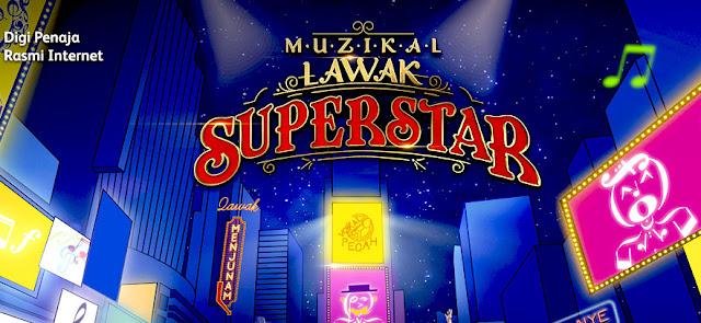 Muzikal Lawak Superstar Minggu 10 (Final) Full
