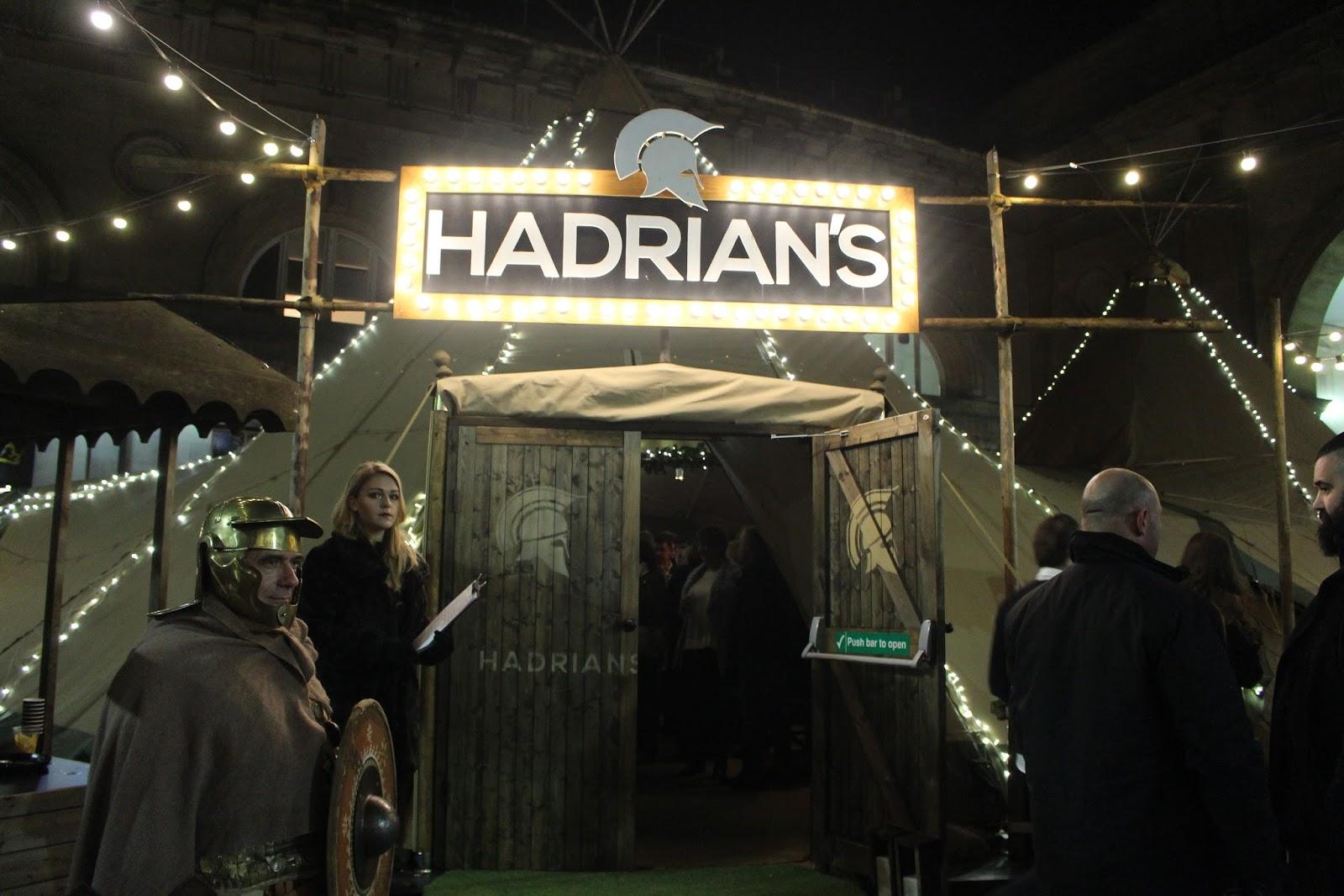 HADRIAN'S TIPI
