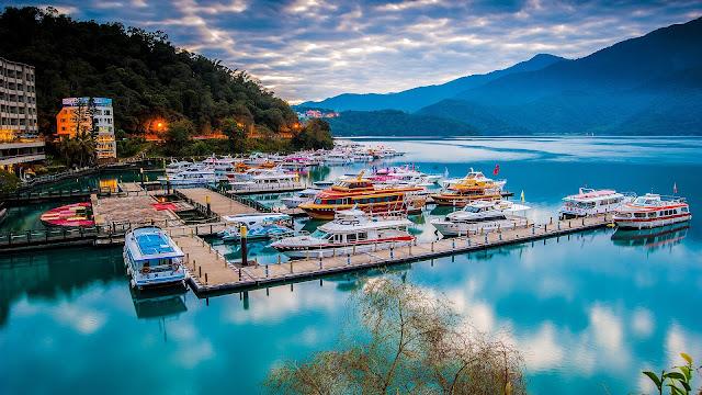 Hồ Nhật Nguyệt, Đài Loan