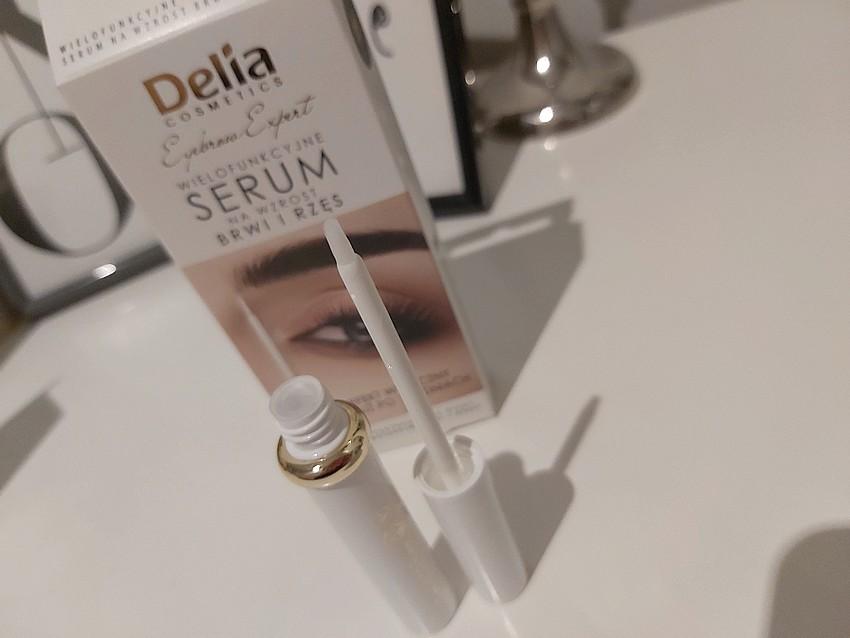 delia wielofunkcyjne serum na wzrost brwi i rzęs