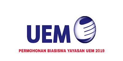 Permohonan Biasiswa Yayasan UEM 2019 Online