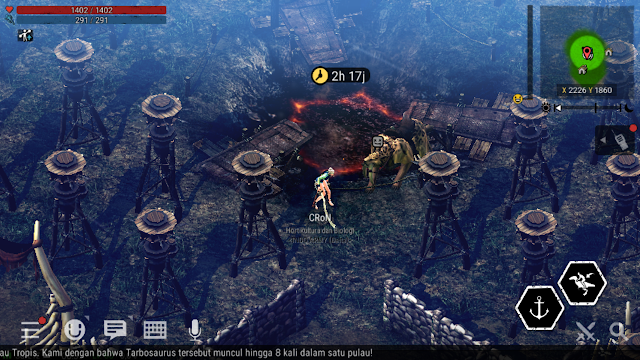 Cara Warp ke Outer Post Clan di Game Durango Wild Lands