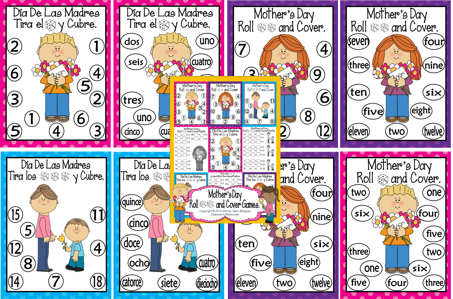 http://www.teacherspayteachers.com/Product/Mothers-Day-Roll-and-Cover-Games-1180133