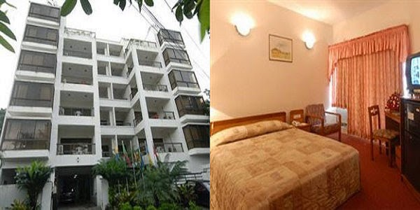 Room rates of Hotel Purbani and Rose wood Residense in Dhaka