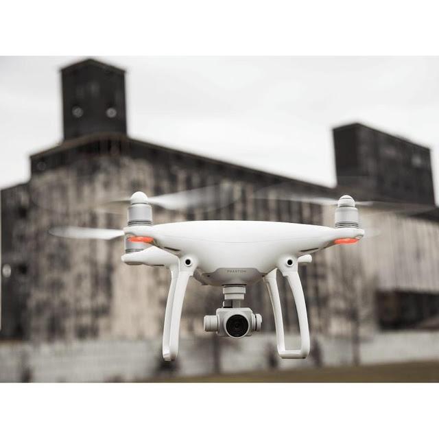 Você esta querendo entrar no mundo dos Drones: Drone Phantom 4 - Dji