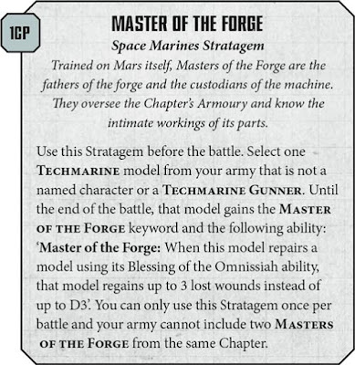 Estratagemas Master of the Forge