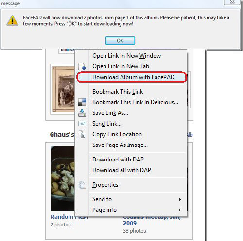 How to Download Facebook Photo Albums ~ HELPpOT