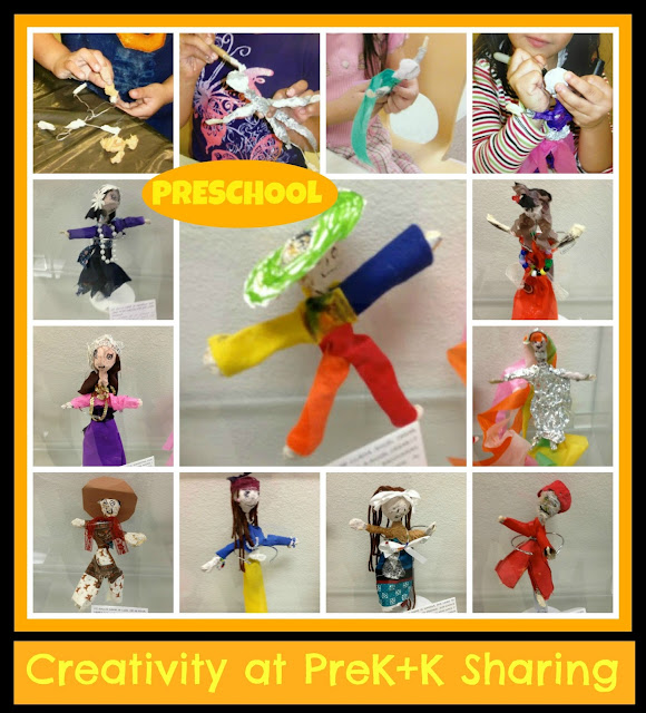 photo of: Creative Figure Study: Doll Making in Head Start Classroom via PreK+K Sharing