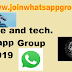Science and Technology whatsapp group links latest collection