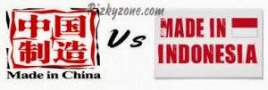 label cina vs label indonesia