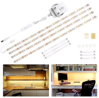 Wobane Under Cabinet Lighting Kit
