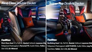 5 Sleeper Bus Super Mewah di Indonesia, Nyaman Sampai ke Tempat Tujuan